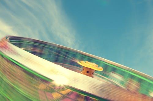 Gratis lagerfoto af karneval, køre, lang eksponering, luftslør