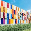 art, building, grass
