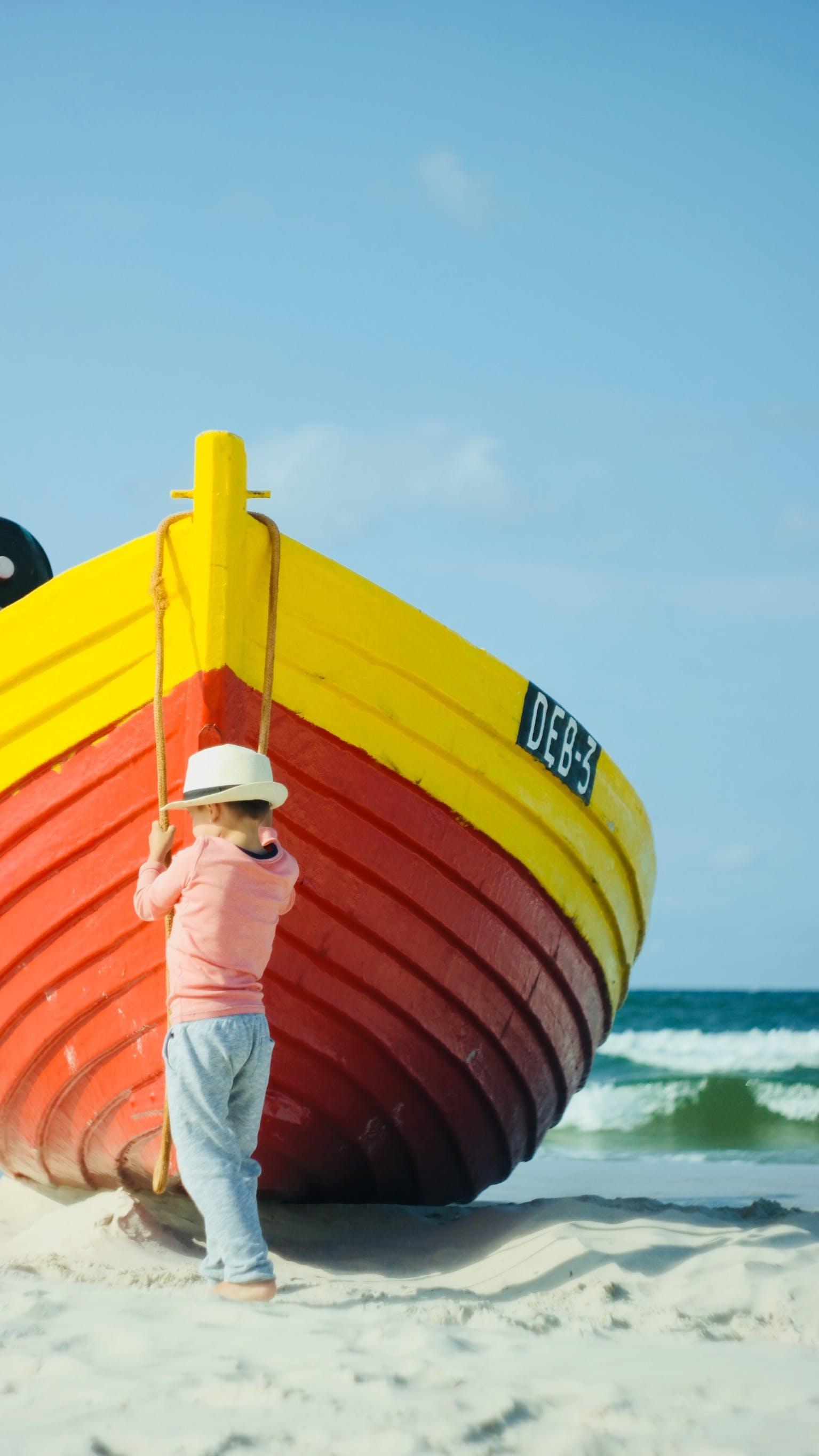 Free stock photo of beach, coast, holiday, kid