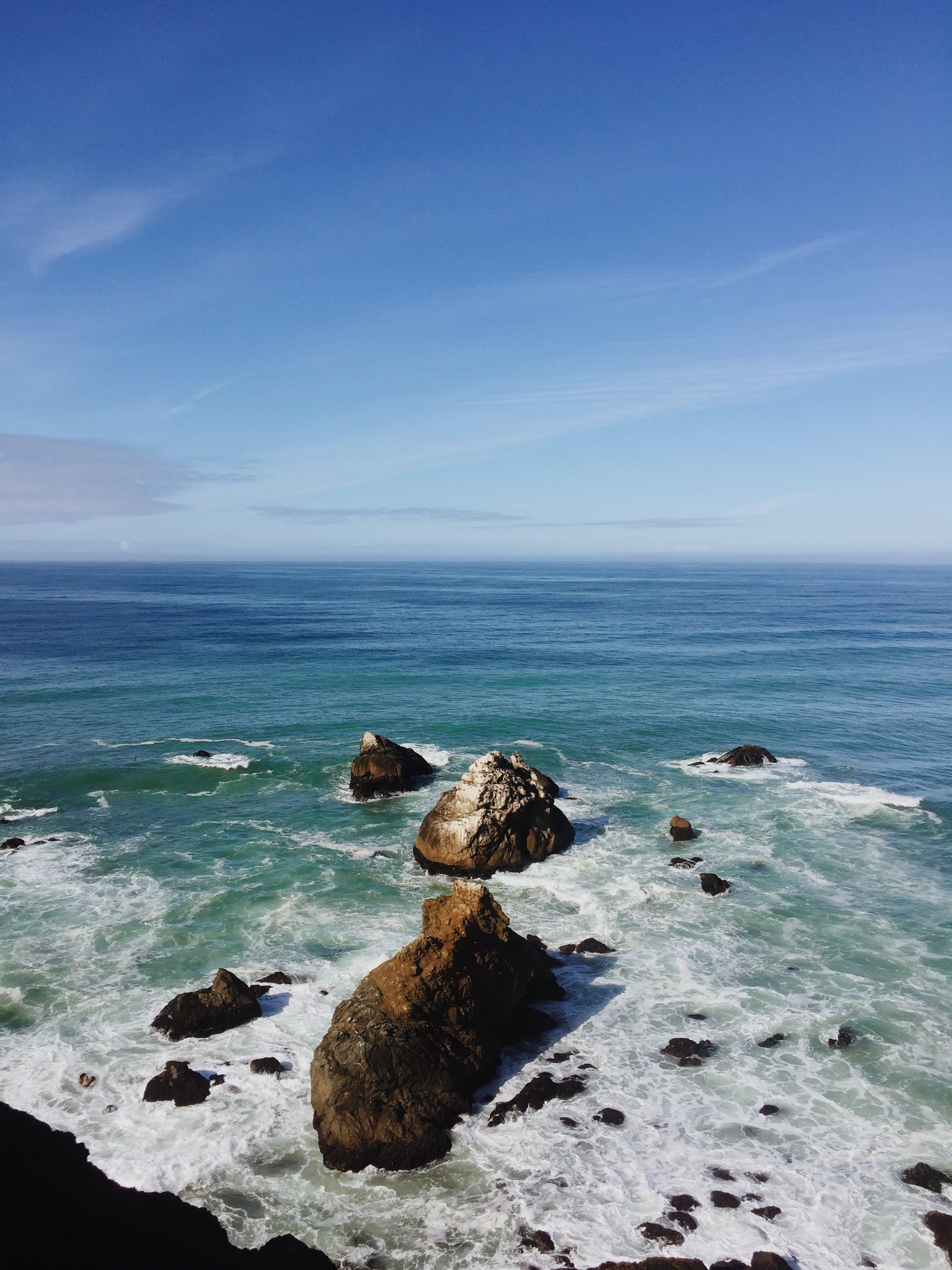 Free stock photo of coast, ocean, rocks, sea