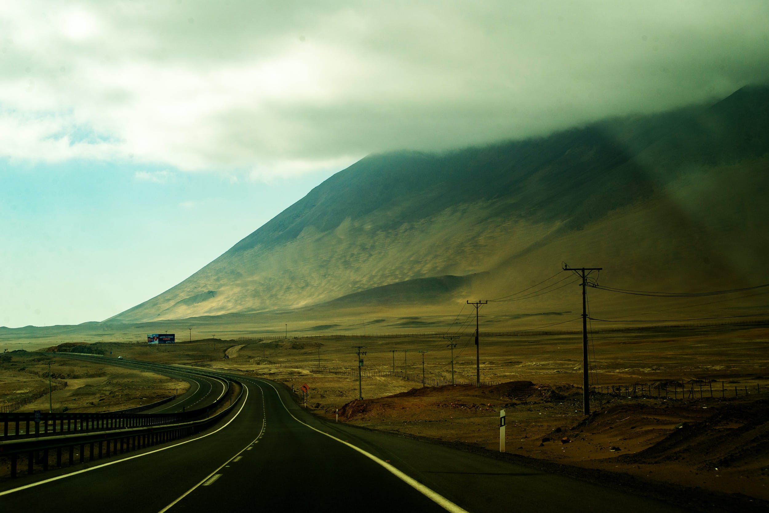 Free stock photo of road, travel, route, chile