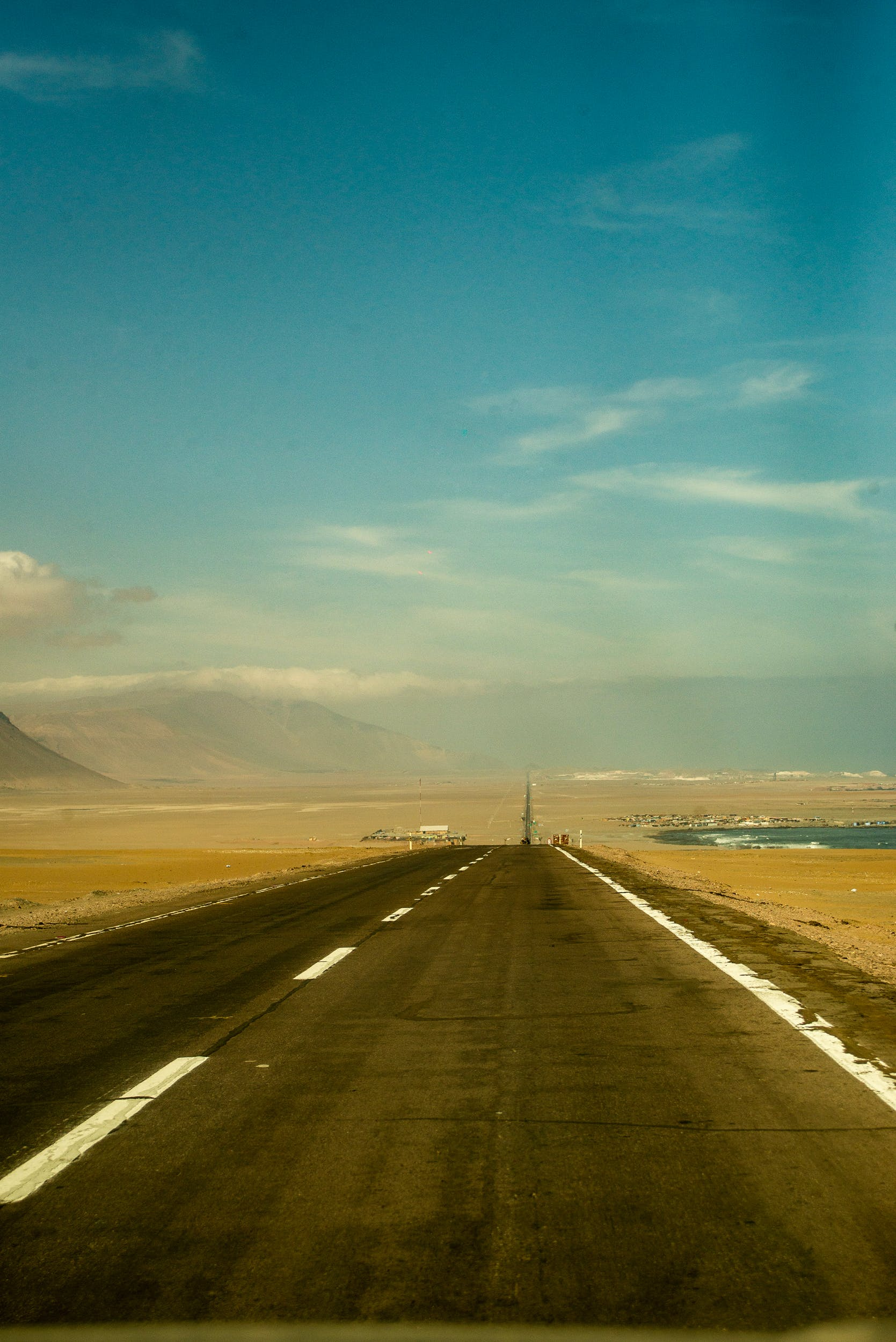 Free stock photo of chile, chilean, north, road