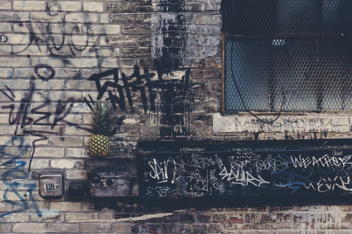 Pineapple on Wall Decor