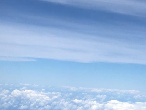 Gratis lagerfoto af skyer, stillehavet