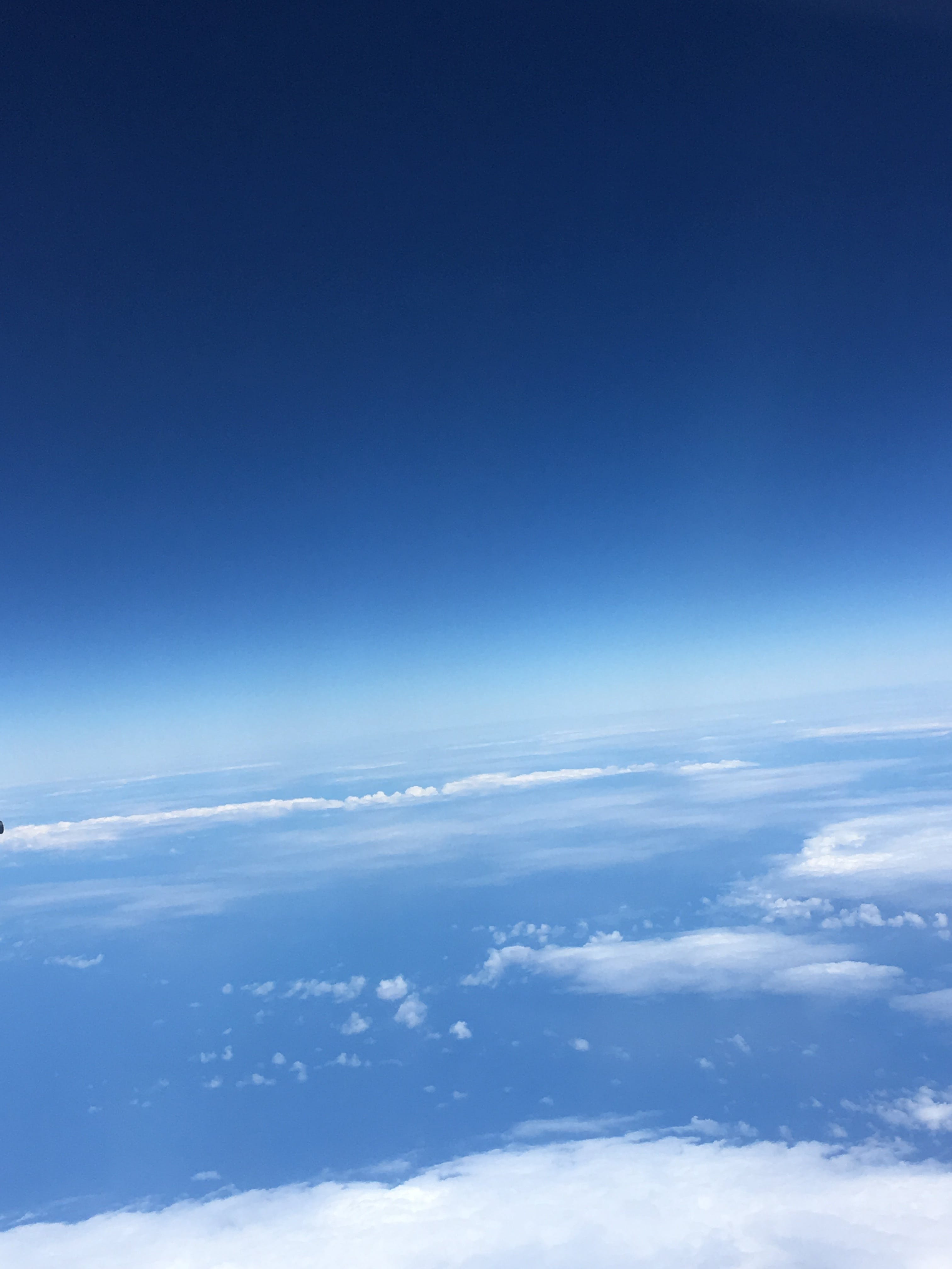 Free stock photo of airplane, clouds, pacific ocean