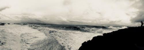 Gratis lagerfoto af bølger, ensom, hawaiâ € ™ i, kontrast