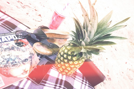 Free stock photo of beach, sunglasses, sand, water