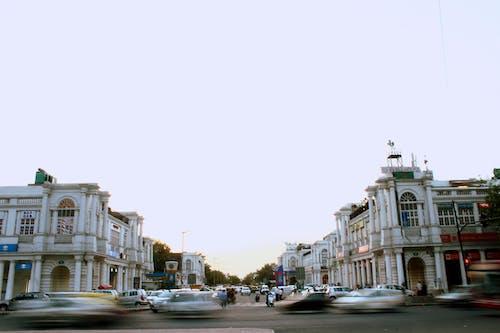 거리, 교통, 러시아워, 움직이는의 무료 스톡 사진