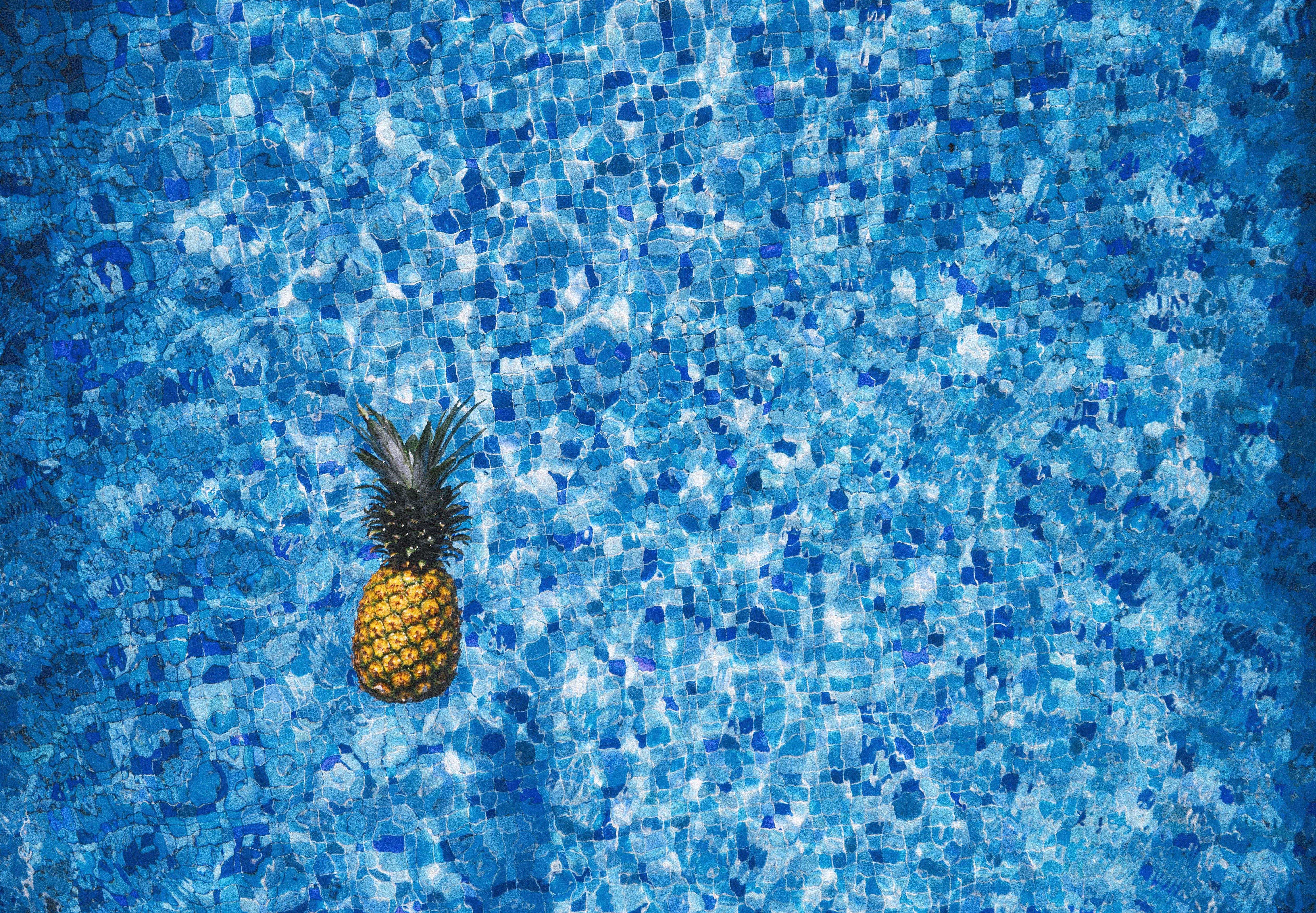 pool water. Free Stock Photo Of Water, Blue, Pattern, Pineapple Pool Water