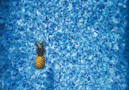 Immagine gratuita di acqua, ananas, azzurro, blu