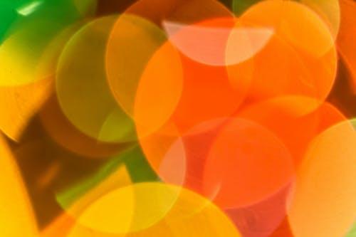 Imagine de stoc gratuită din cercuri, colorat, încețoșat, lumină