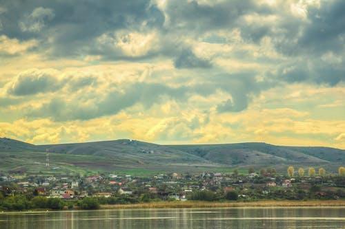 Imagine de stoc gratuită din HDR, însorit, nori, peisaj