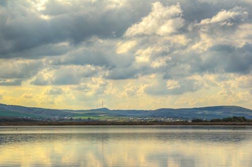 Imagine de stoc gratuită din apă, HDR, însorit, nori