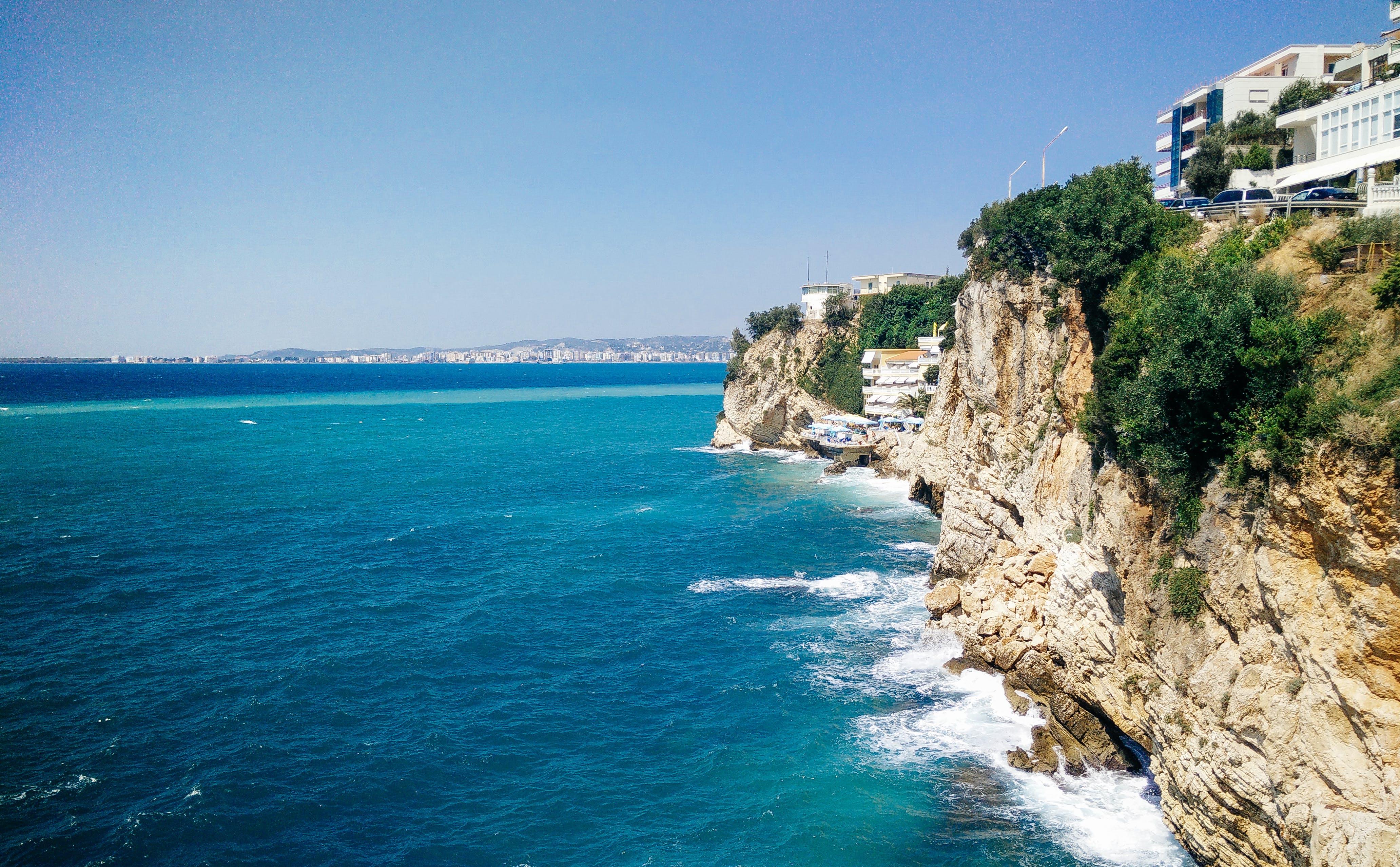 Free stock photo of Albania, beach, beach landscape, beachlife