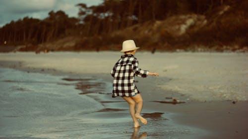 Person On Seashore