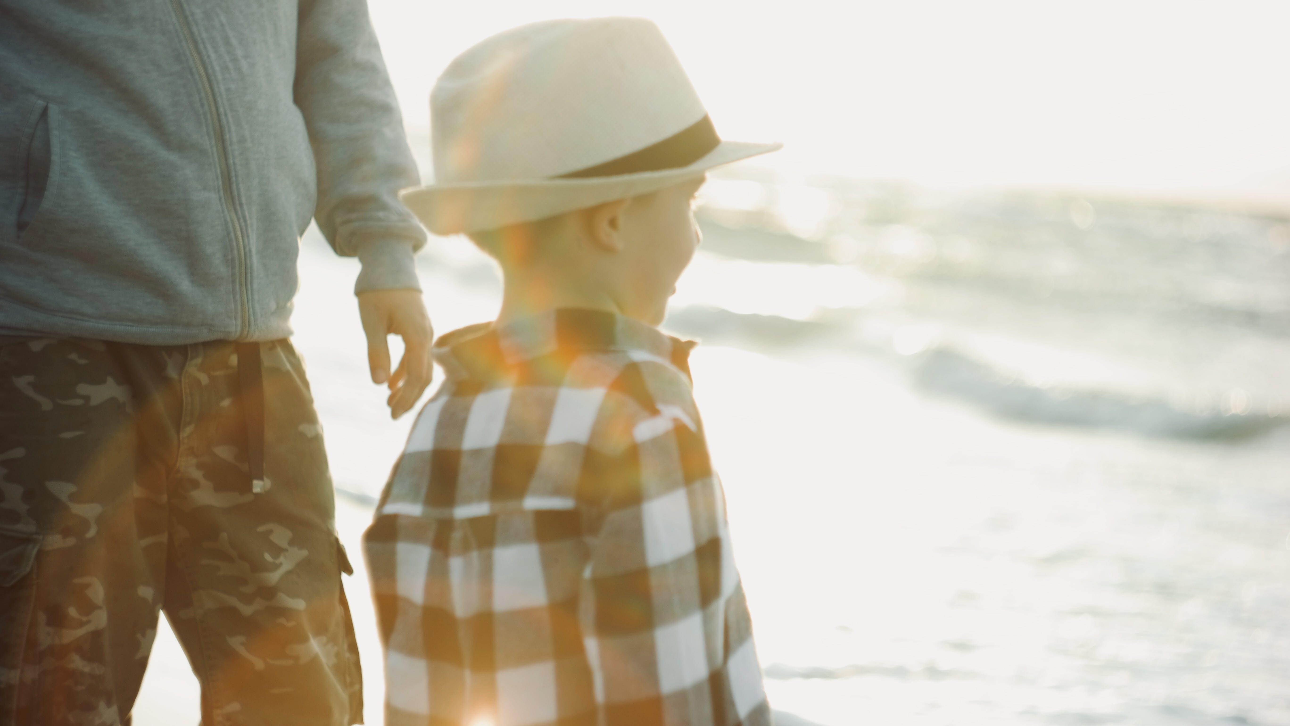 Boy On Seashore