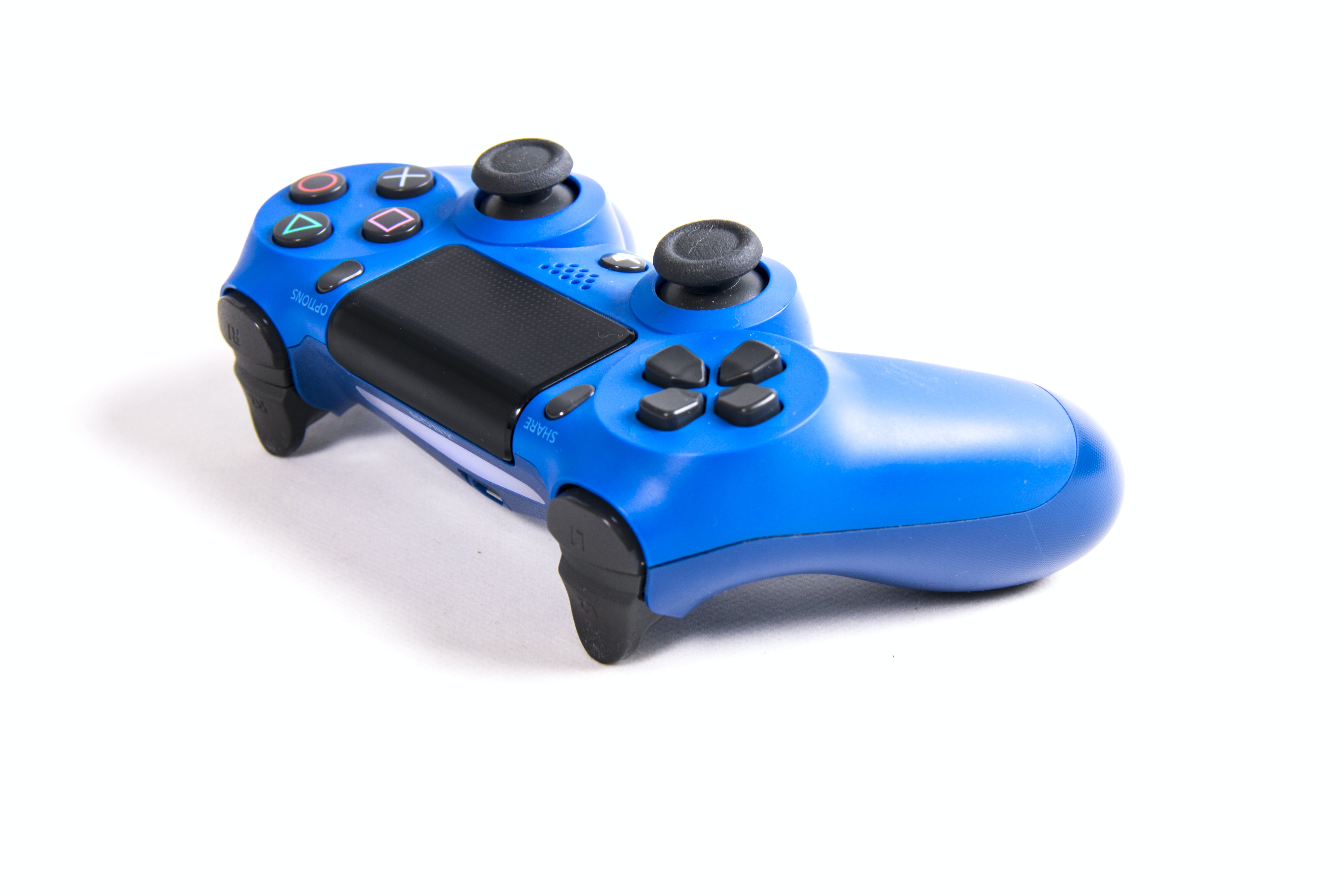 Blue Sony Dualshock 4