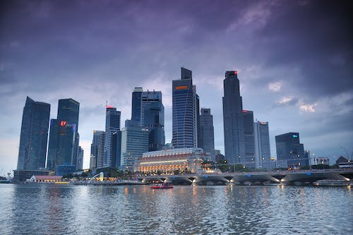 Free stock photo of bay, city, singapore