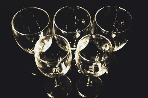 Free stock photo of wine glasses