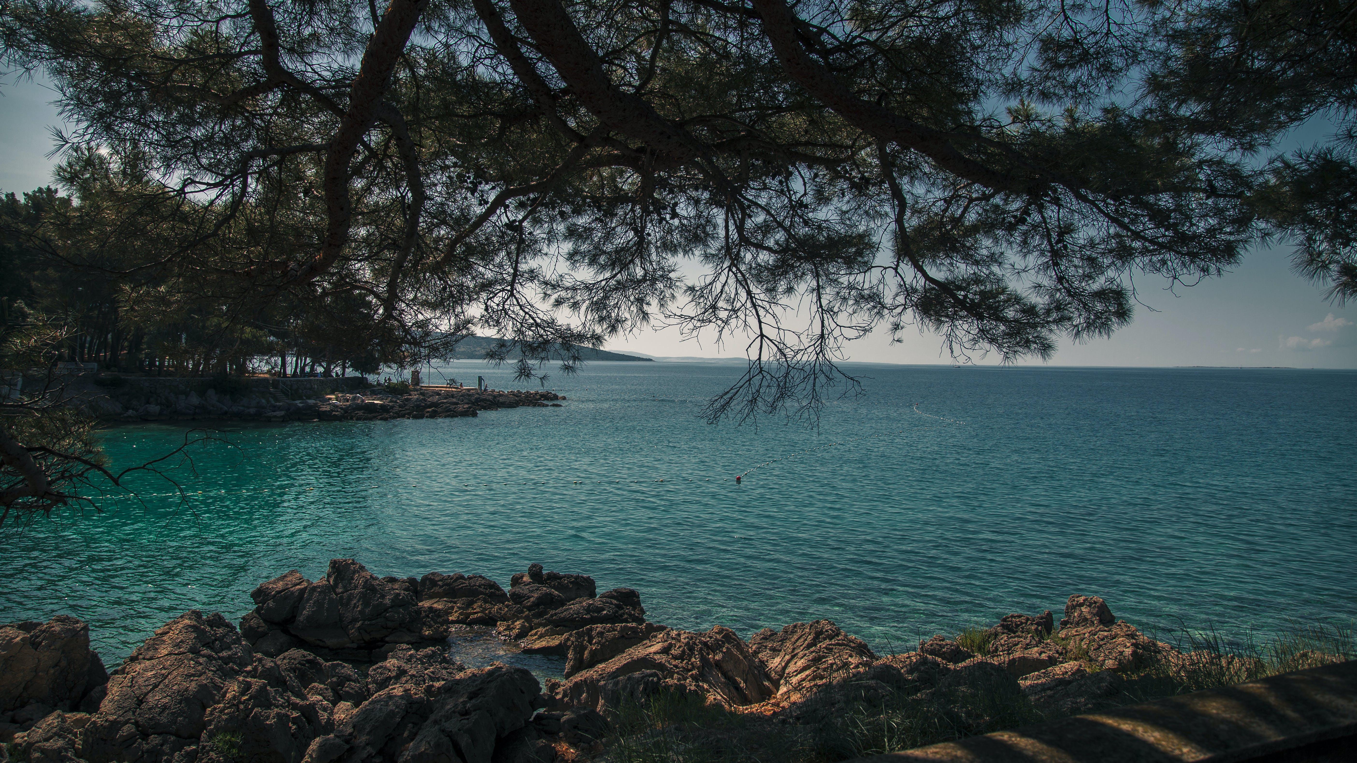 Free stock photo of background, beach, clouds, coast