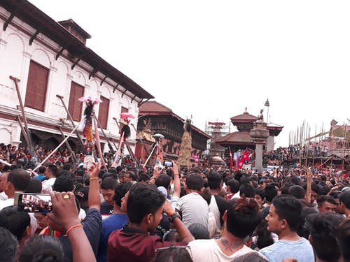 Foto profissional grátis de bhaktapur, gaijatra, Nepal, pawankawan
