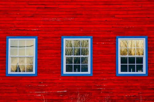 Photos gratuites de bleu, comités, fenêtres, grange