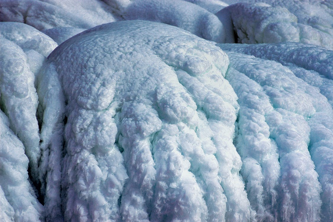 formation, froid, glace