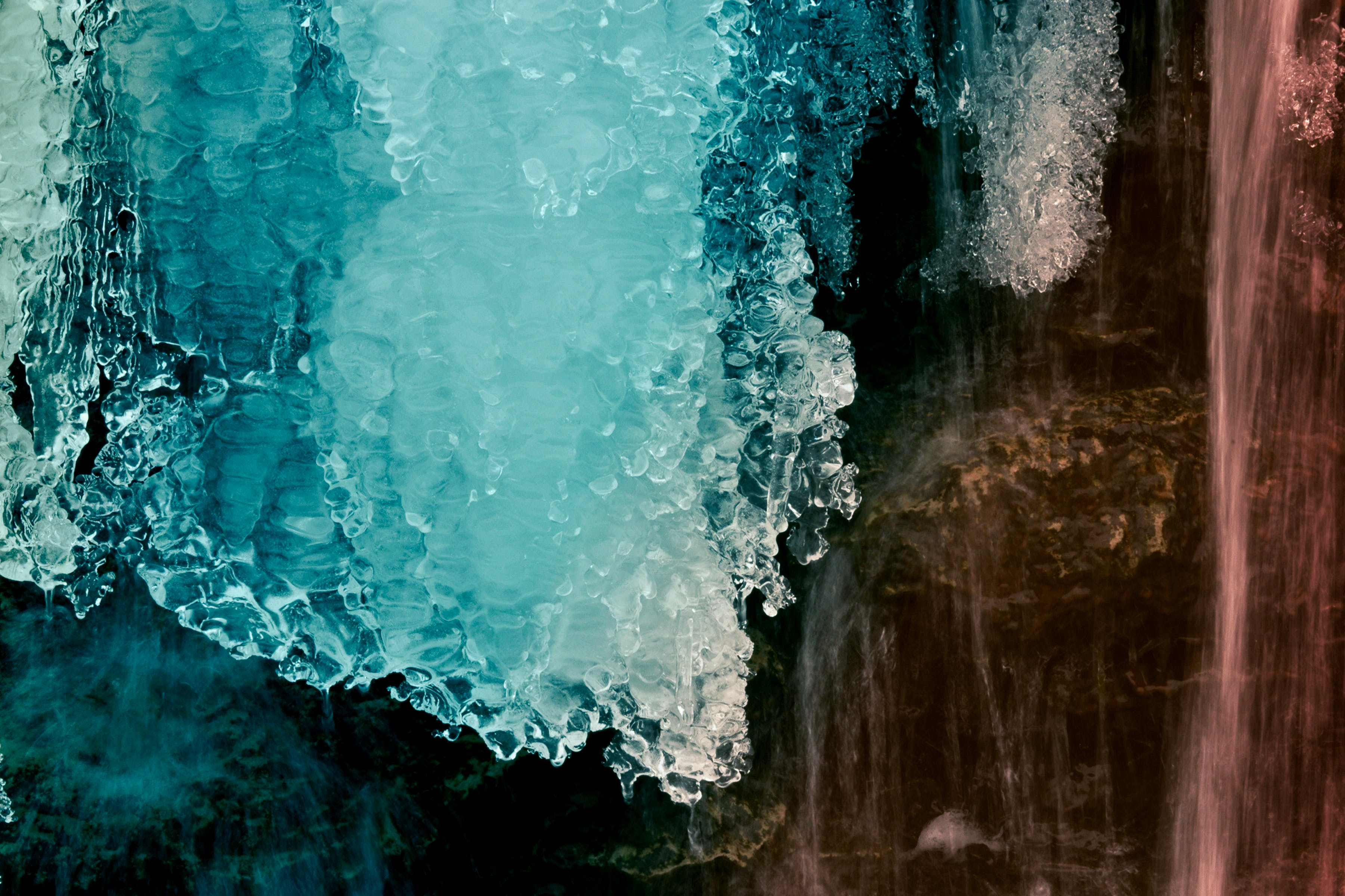 Free stock photo of formation, frozen, ice, water