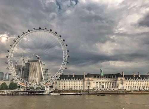 Безкоштовне стокове фото на тему «Лондонське око, річка Темза»