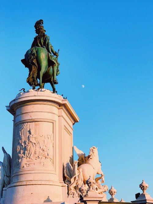 Δωρεάν στοκ φωτογραφιών με άγαλμα, κουλτούρα, Λισαβόνα, πόλη
