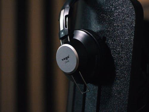 Kostnadsfri bild av headset, musik, studio