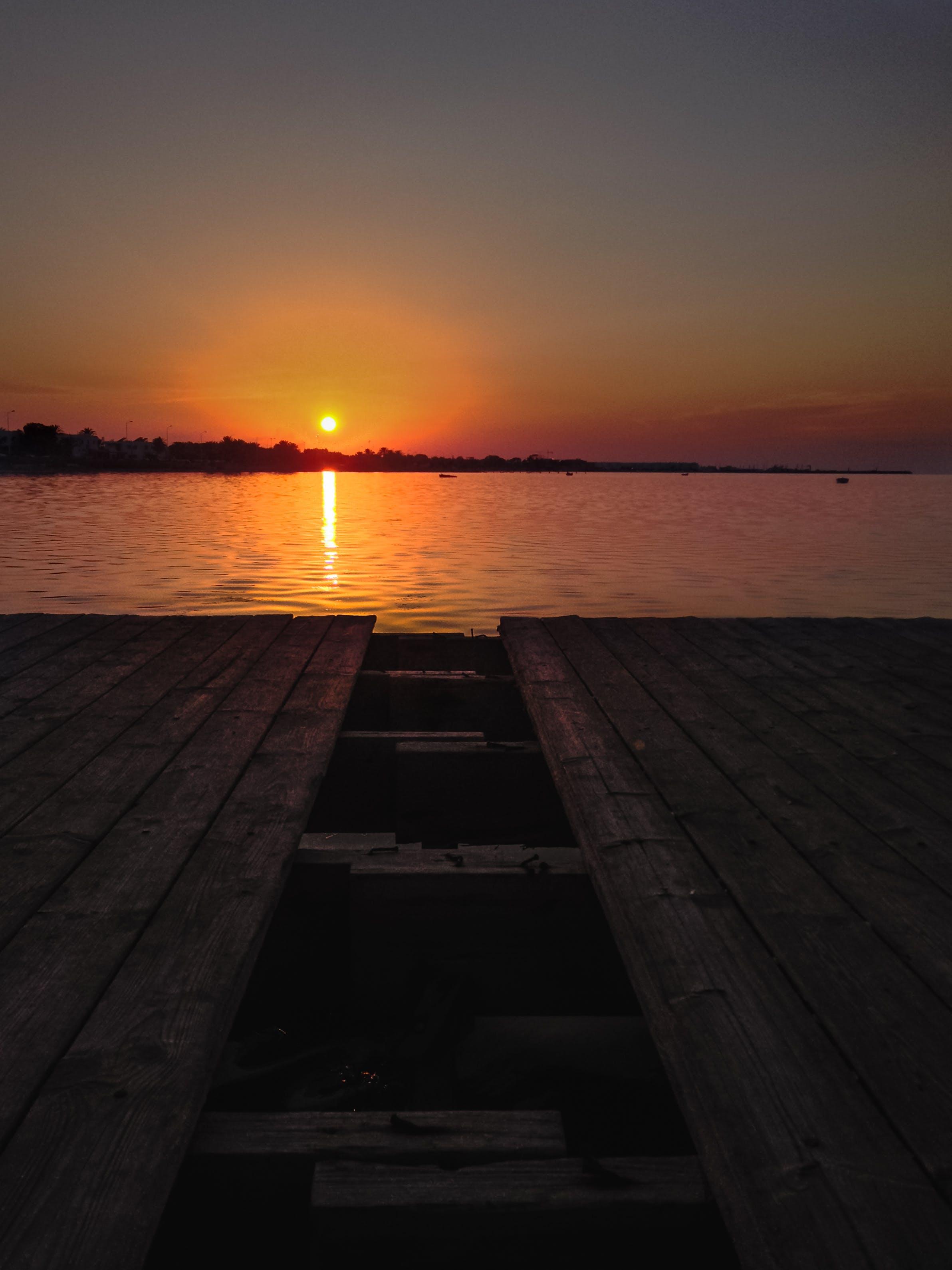 Free stock photo of djerba, golden sunset, island, tunisia