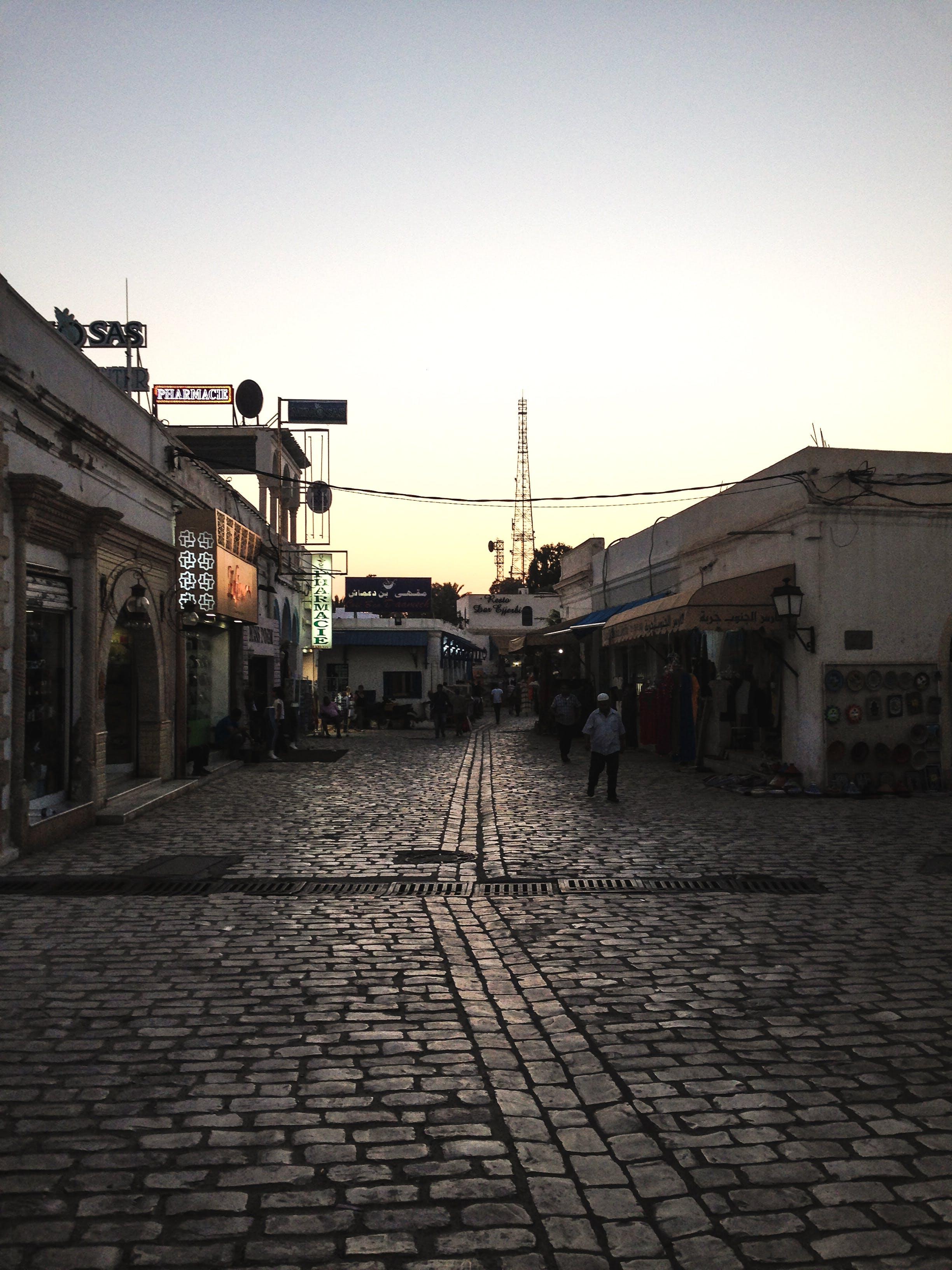 Kostenloses Stock Foto zu kleine stadt, traditionell, tunesien