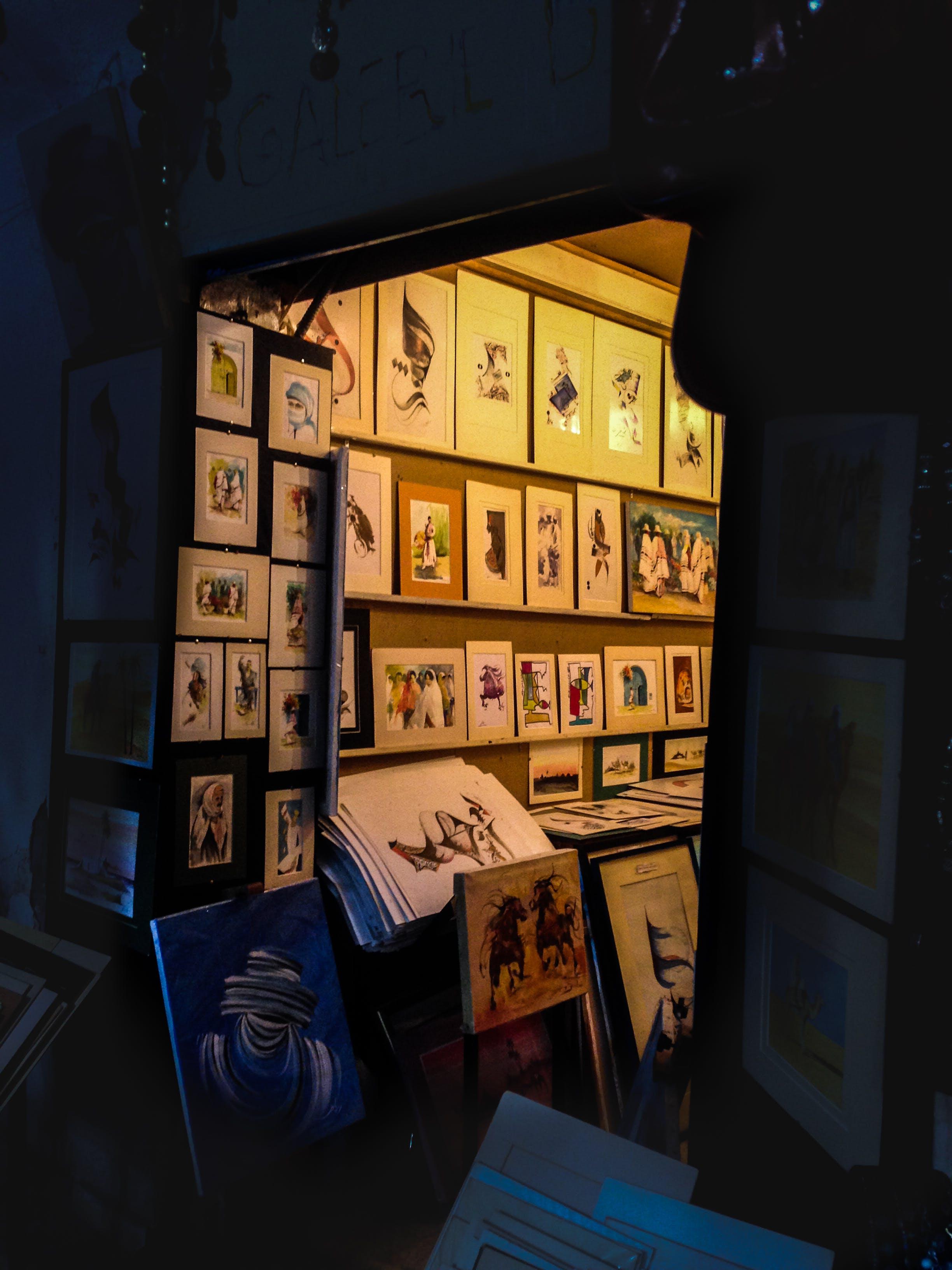 Free stock photo of art, paint, store
