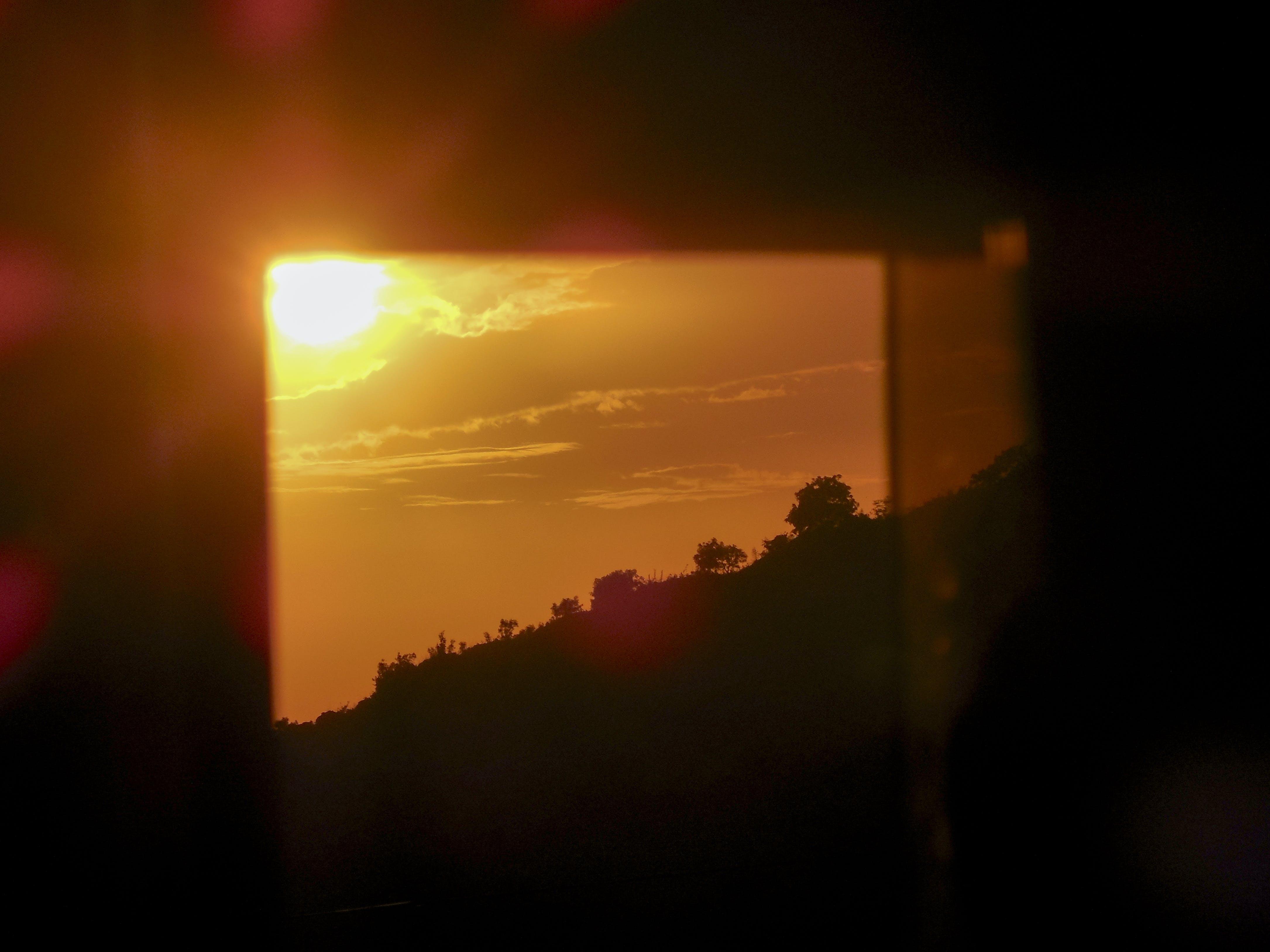 Free stock photo of downhill, evening sun, glass, golden hour