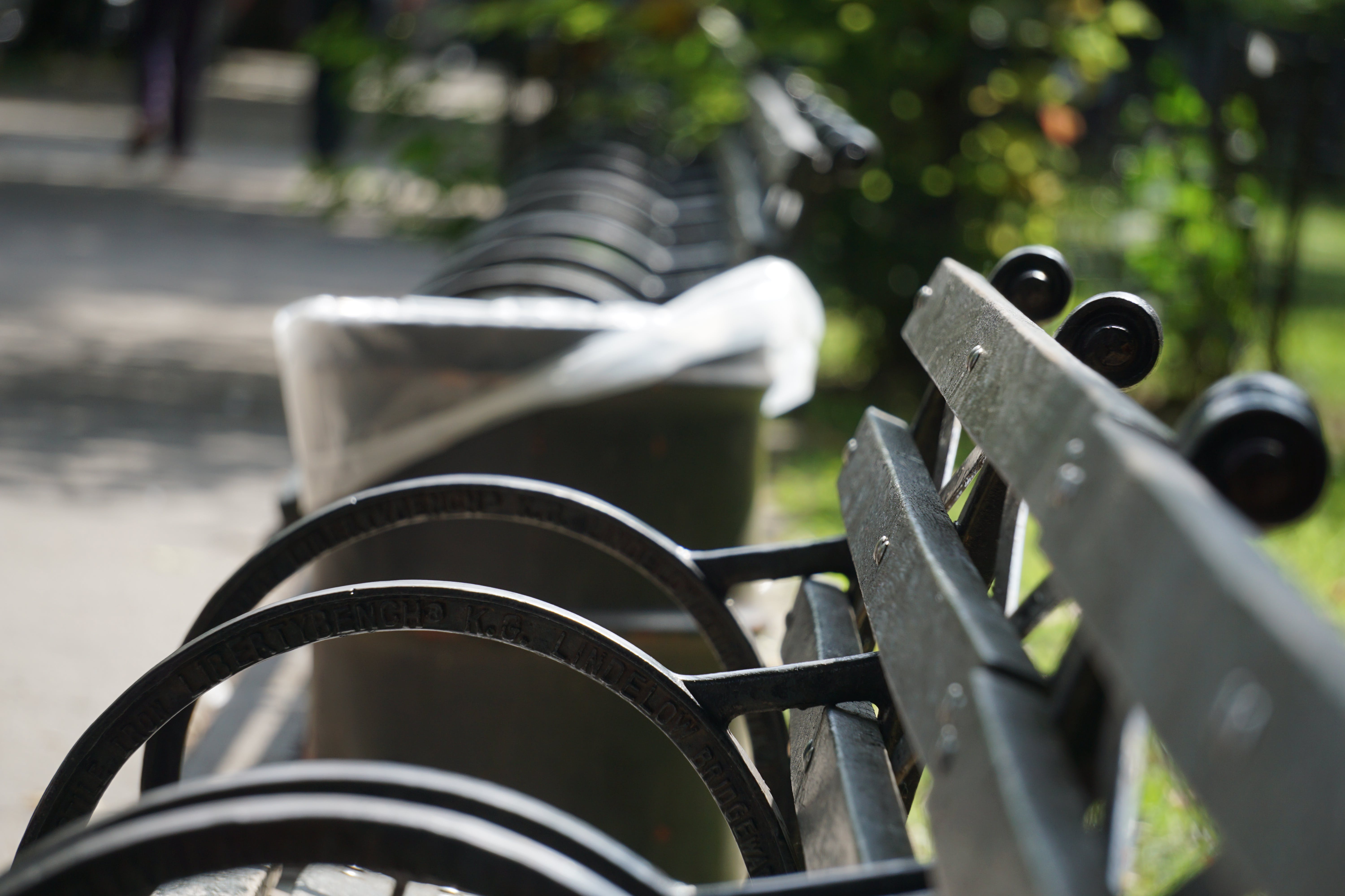 Free stock photo of bench, park, outdoor, new york city wallpaper