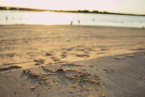 Бесплатное стоковое фото с песок, пляж