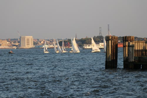 Free stock photo of Sailing on the Hudson