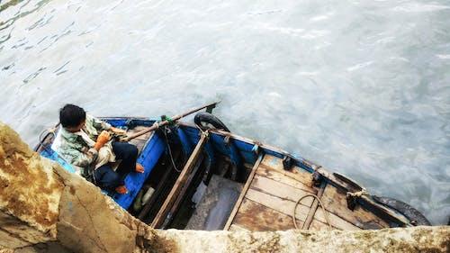 Free stock photo of Ferryman, ocean