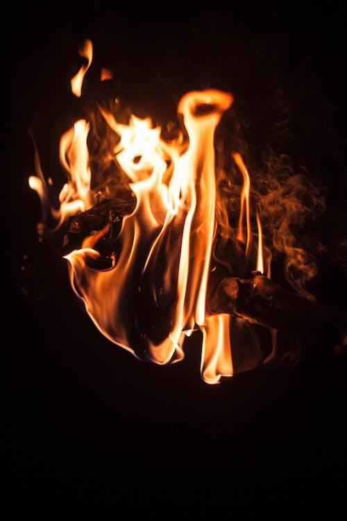 คลังภาพถ่ายฟรี ของ ความร้อน, ร้อน, เตาผิง, เปลวไฟ