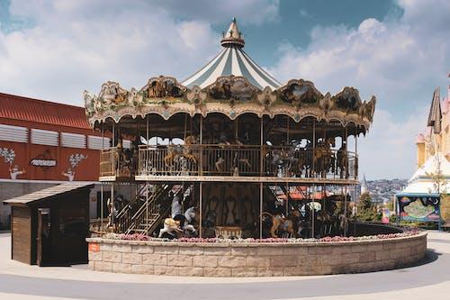 Gratis stockfoto met carnaval, carrousel, rijden