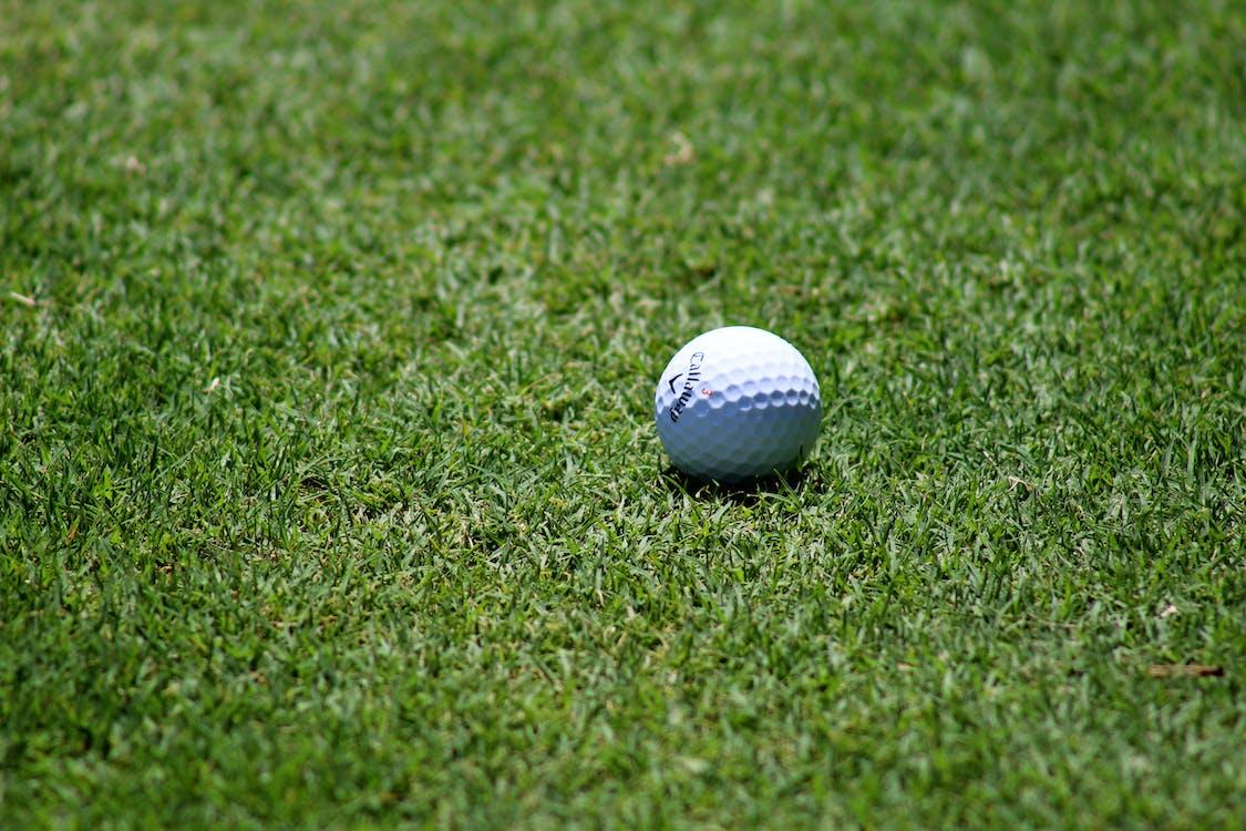 bola, carrer, golf