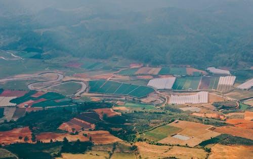 Δωρεάν στοκ φωτογραφιών με αγρόκτημα, αγροτικός, από πάνω