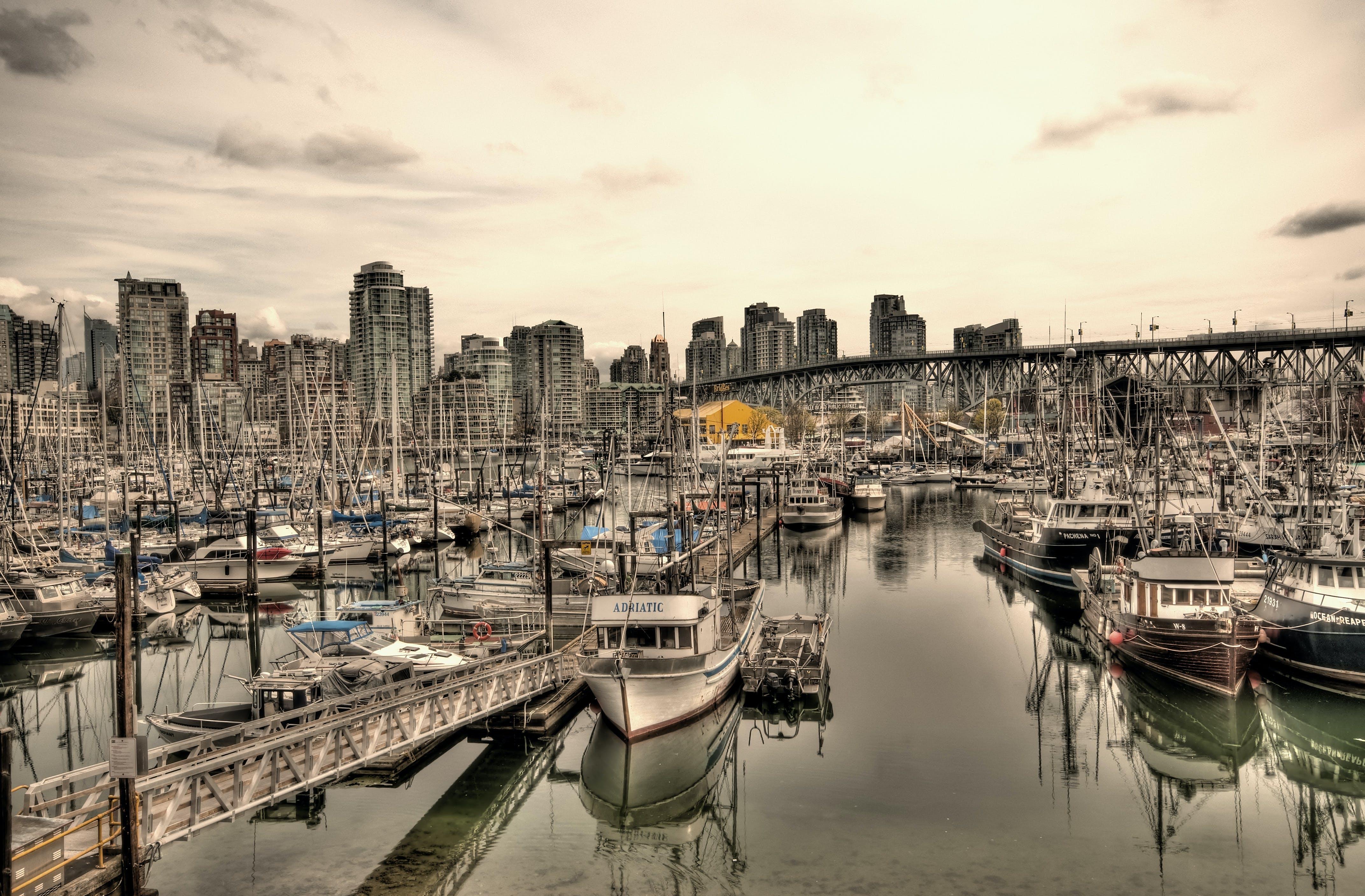 acqua, architettura, barche
