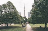 city, road, landscape