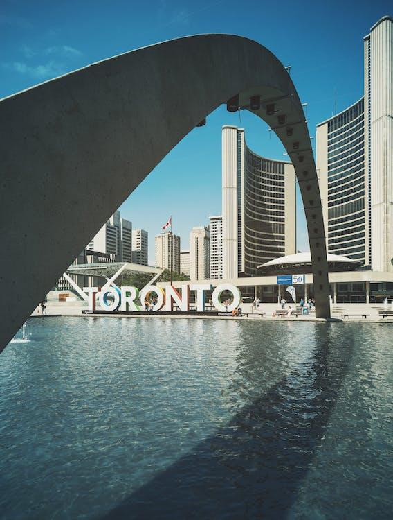 Toronto Building Near Body of Water