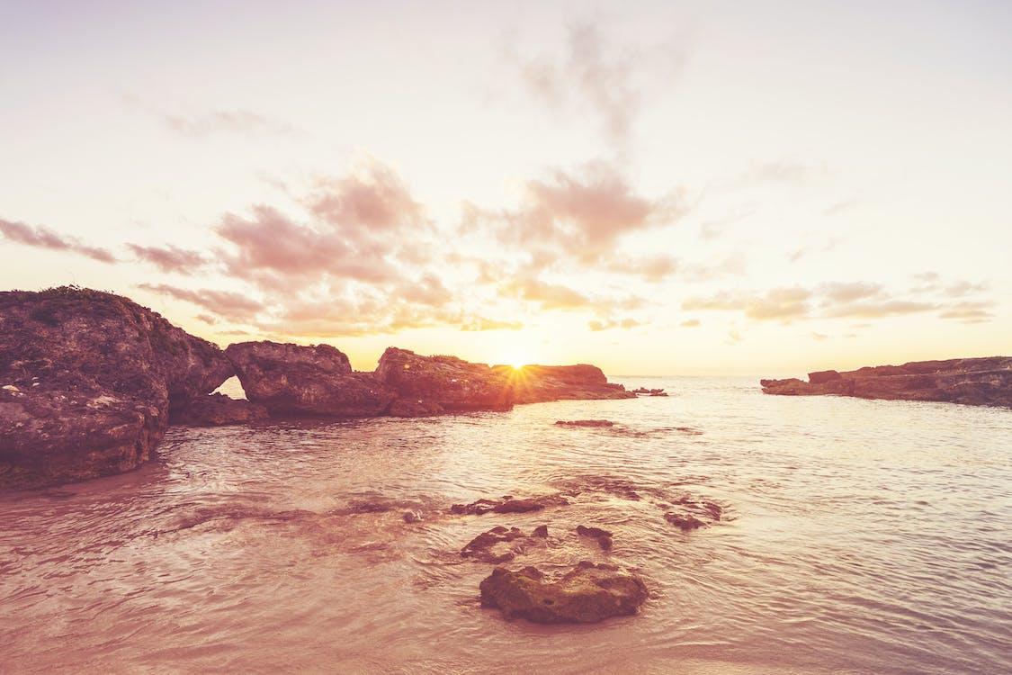 ακτή, Ανατολή ηλίου, αυγή