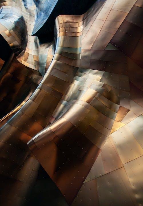 Immagine gratuita di architettonico, architettura, arte del metallo, curve