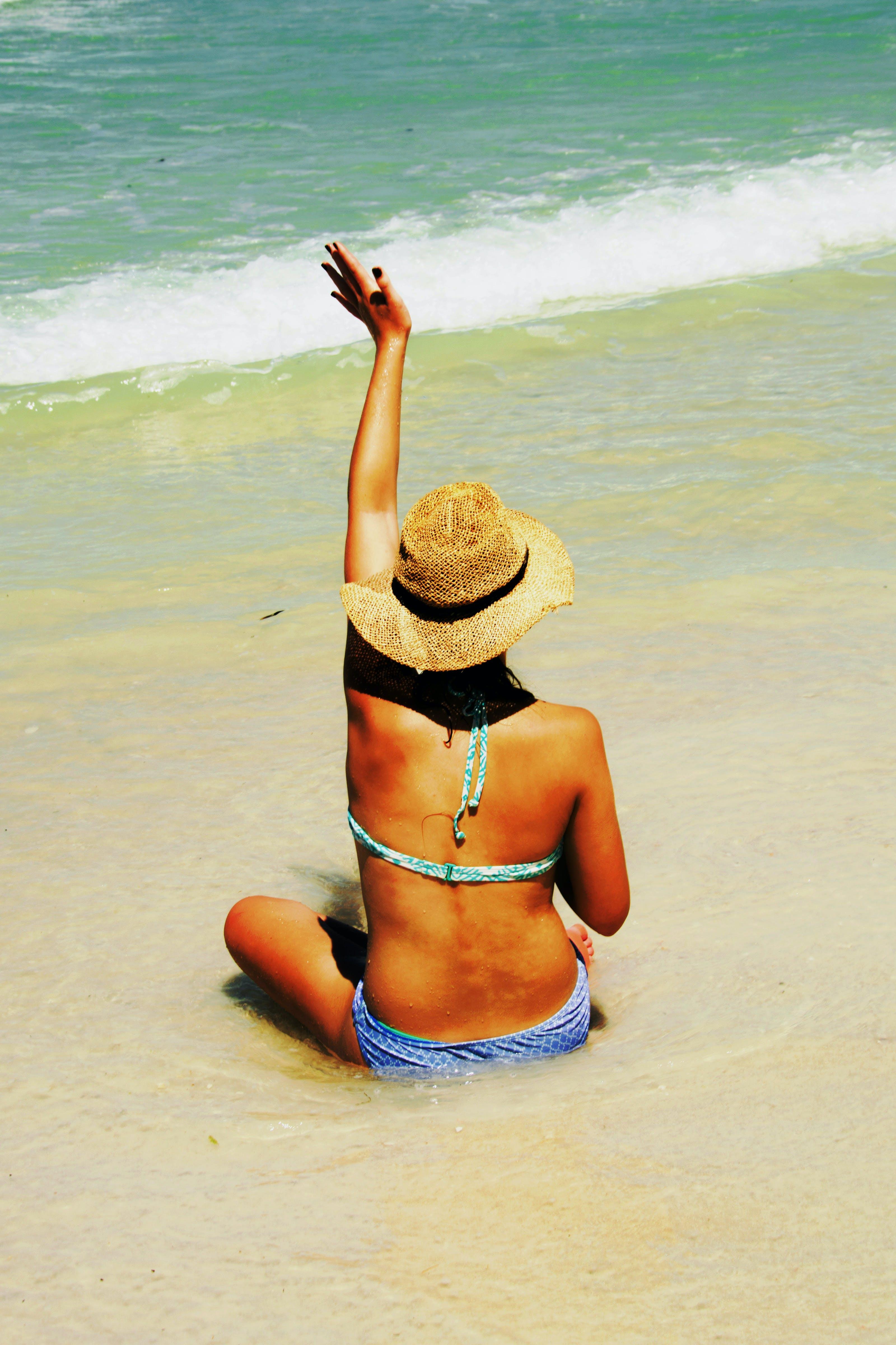 Základová fotografie zdarma na téma bikini, denní světlo, dospělý, dovolená