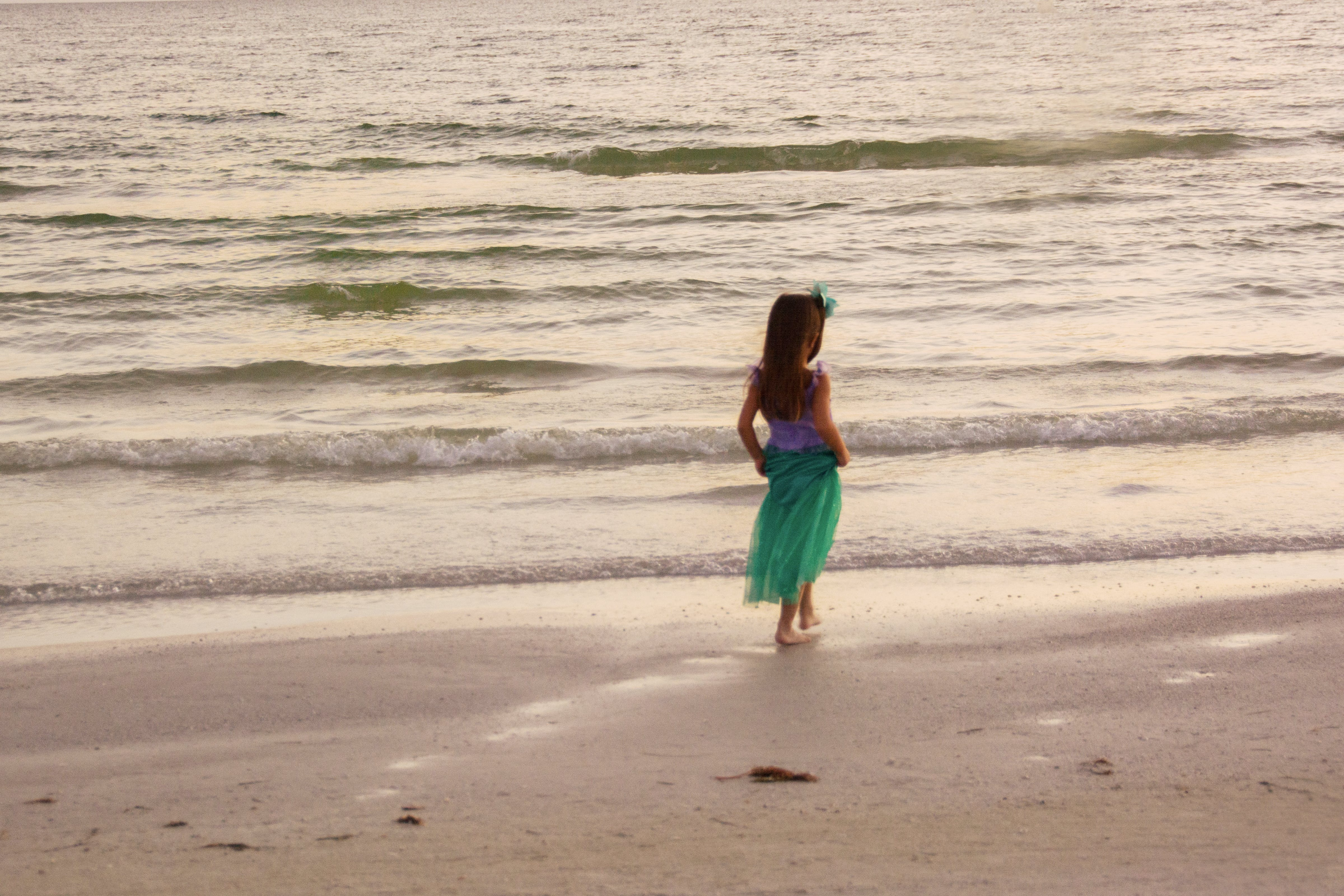 Free stock photo of Little Mermaid at the Sea